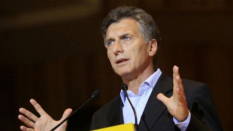 Macri anunció el compromiso antidespidos