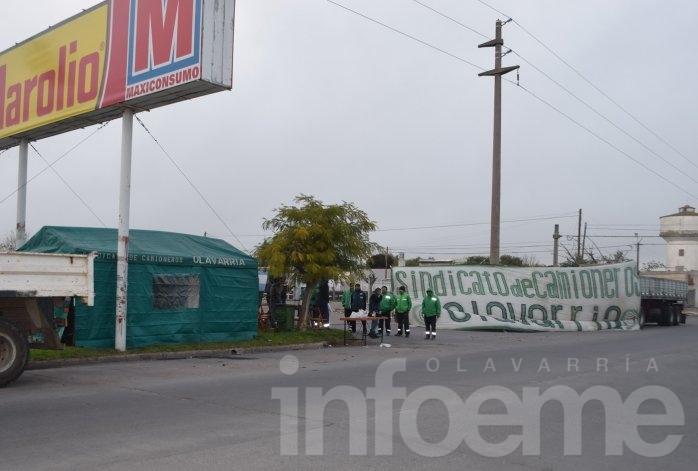 Nueva protesta en las puertas de hipermercado mayorista