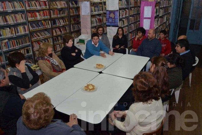 Descontento de las bibliotecas populares por el veto de Galli