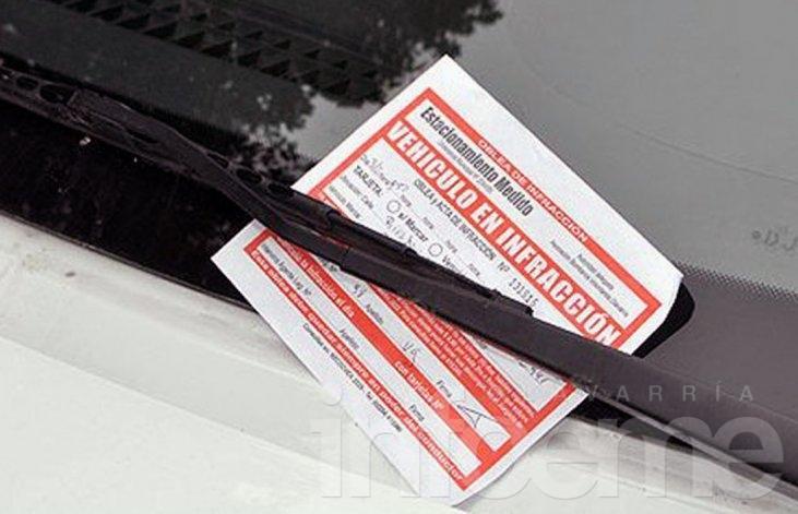 Estacionamiento medido: ¿Cuántas infracciones hay?