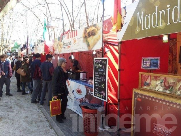 """Con la presencia de artistas y artesanos llega la Feria """"Sabores del Mundo"""""""