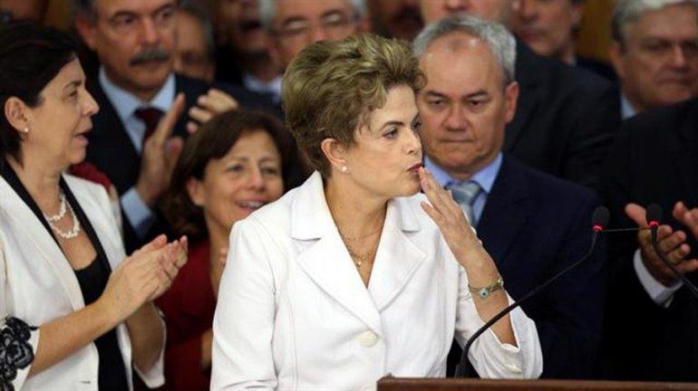 "Dilma Rousseff: ""Esto es un golpe"""