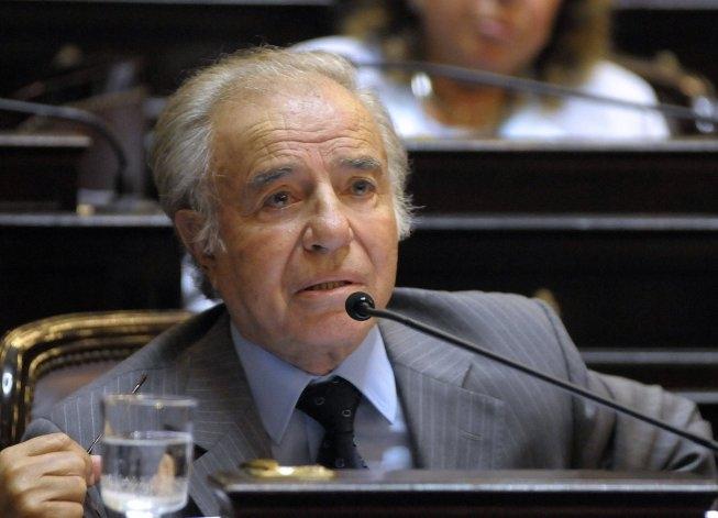 Menem declara en la causa por la muerte de su hijo