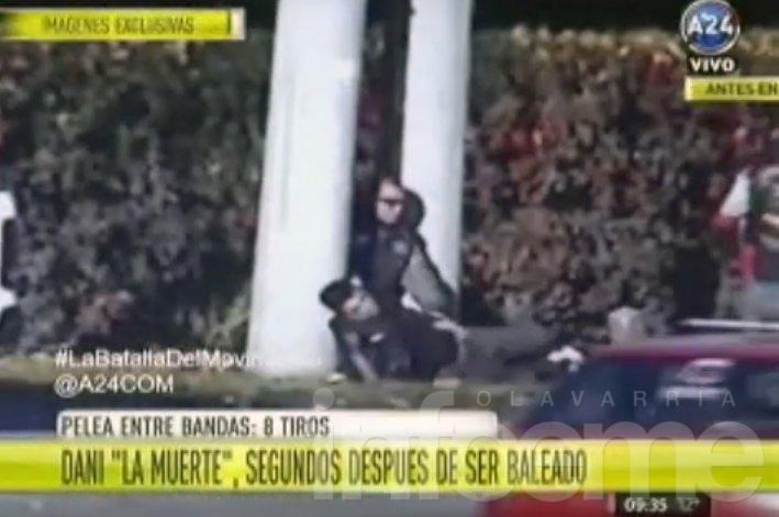 """Video: así se desplomó Dani """"La Muerte"""" tras ser baleado"""