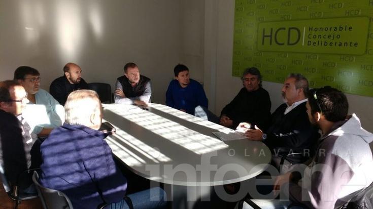 Trabajadores judiciales fueron recibidos en el Concejo