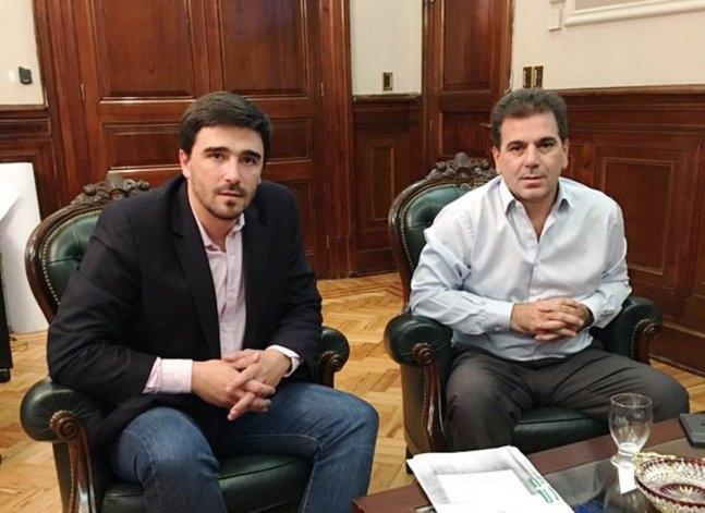 El intendente Galli se reunió con el ministro de Seguridad bonaerense
