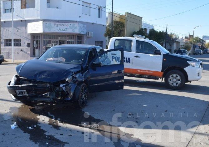 Violento accidente en el barrio San Vicente