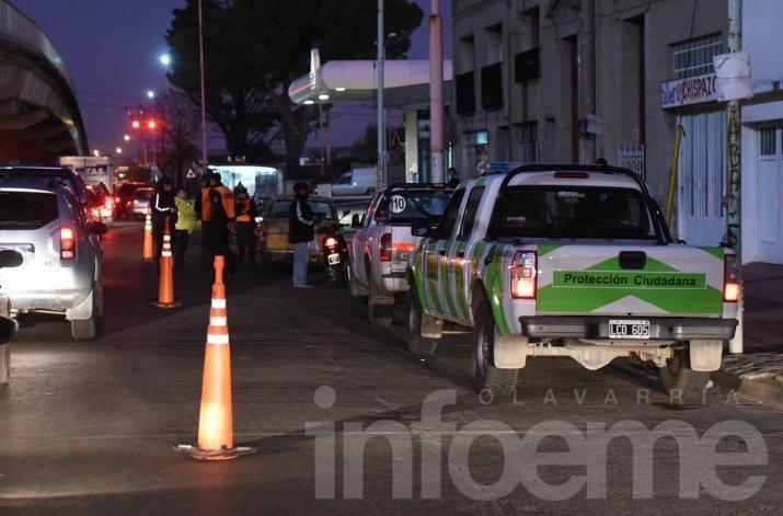 Tránsito: más de doscientas infracciones en una semana