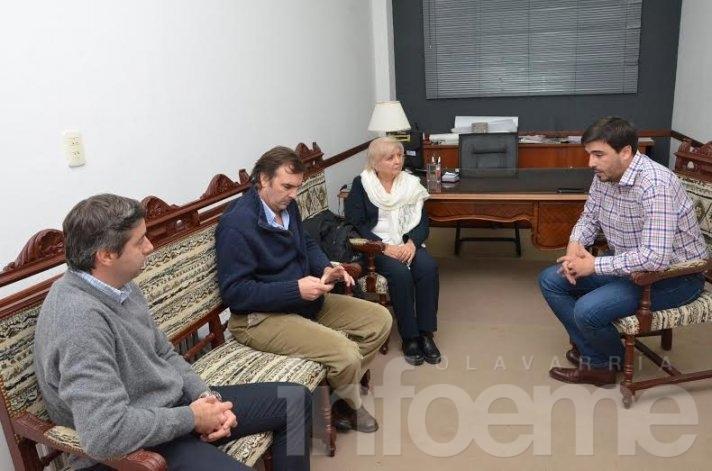 El Jefe Regional de Anses también se reunió con Galli