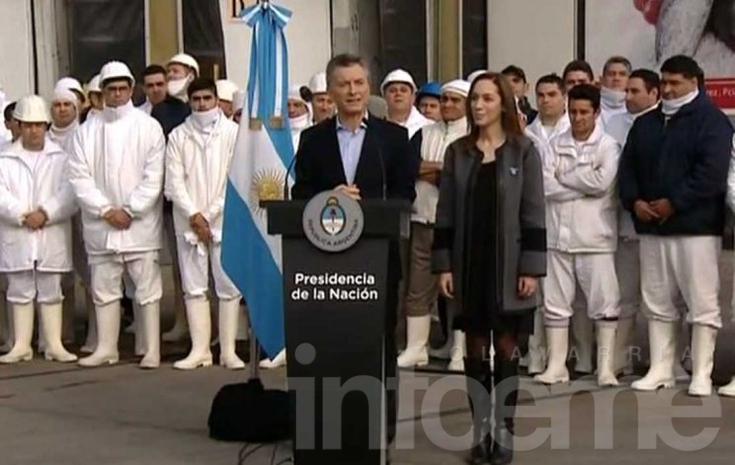 Macri confirmó el veto a la Ley antidespidos