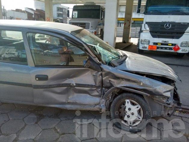 Calles cortadas y varios heridos tras violento accidente