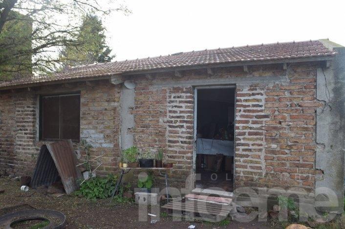 Robo e incendio en una casa quinta