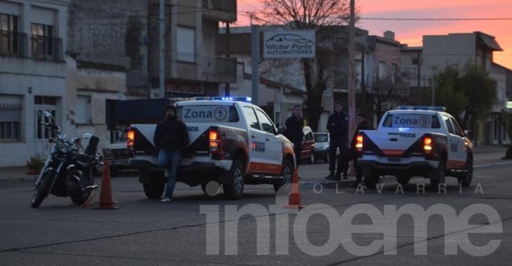 Accidente con un herido en la Avenida Colón