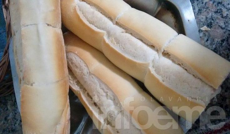 El kilo de pan hoy vale entre 4 y 6 pesos más que ayer