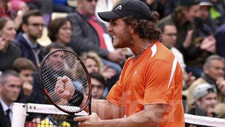 Trungelliti dio el golpe en Roland Garros ante un top ten