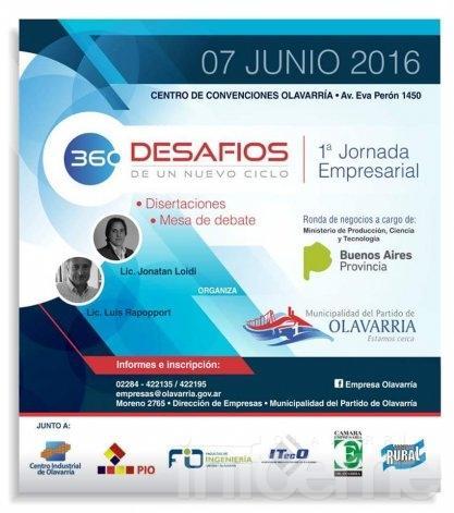 """Jornada empresarial """"360: desafíos de un nuevo ciclo"""""""