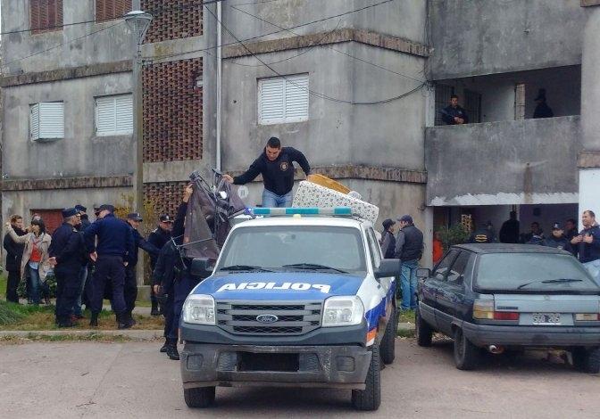 Video: así desalojan los siete departamentos del Barrio Independencia