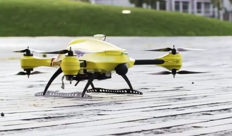 Video: presentan un Drone que podrá salvar vidas