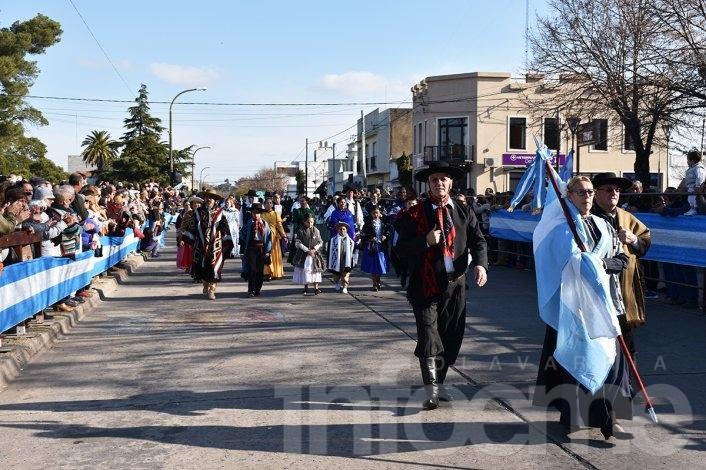 No te pierdas las imágenes del desfile del 25 de Mayo