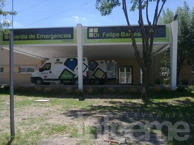 Un hombre ingresó al Hospital con heridas de bala