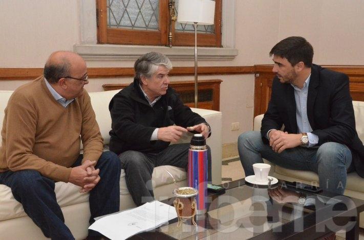 Galli con Alfredo Irigoin: analizaron proyectos ambientales