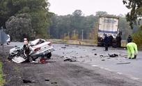 Murió la mujer accidentada en la Ruta 3