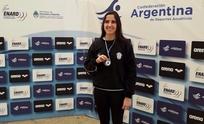 Natación: medalla dorada para Daiana Moura