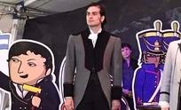 Matías Acosta interpreta a Vicente López y Planes en un musical