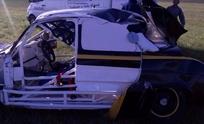 Piloto olavarriense volcó mientras probaba en el Autódromo