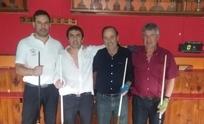Cinco olavarrienses participaron del 5 quillas en Necochea