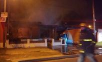 Ahora: incendio completamente declarado afecta a una vivienda