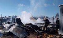 Barrio Costero Sur: voraz incendio en una humilde vivienda