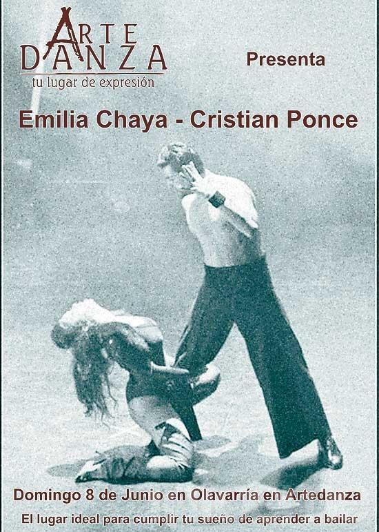 Seminario de Cristian Ponce y Emilia Chaya Almada