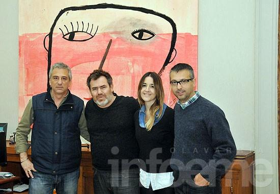 Anunciaron la Bienal Nacional de Arte en Olavarría