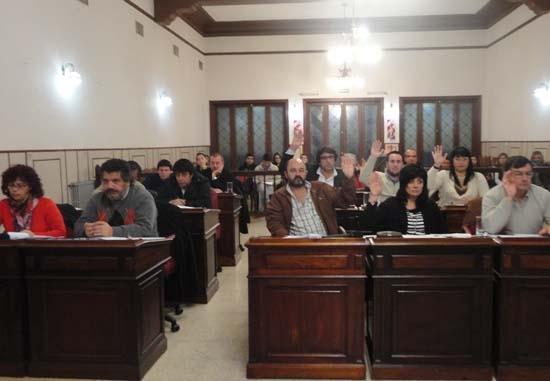 Por mayoría,  el Concejo rechazó el uso de chaleco con patente