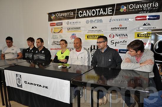 La selección nacional de Paracanotaje se entrena en Olavarría