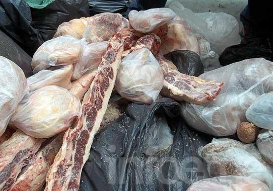 Decomisaron 100 kilos de carne de dudosa procedencia
