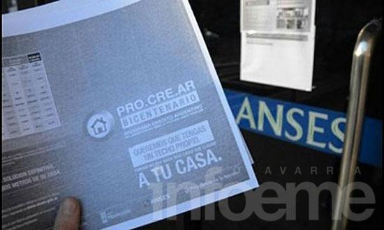 Pro.Cre.Ar: en Olavarría, más de 800 familias salieron sorteadas