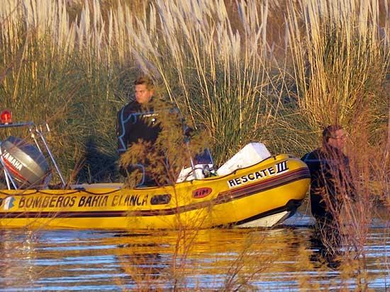 Tras una semana no aparecen los pescadores olavarrienses