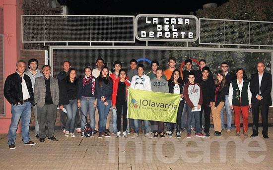 Deportistas locales recibieron becas municipales