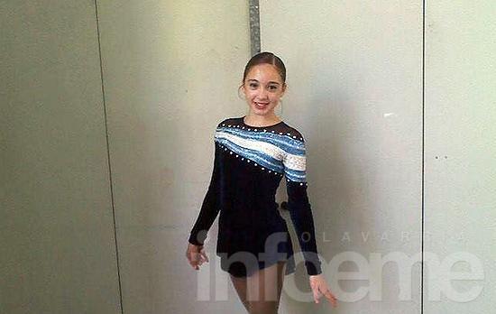 Mayra Marcovechio fue sexta en Italia