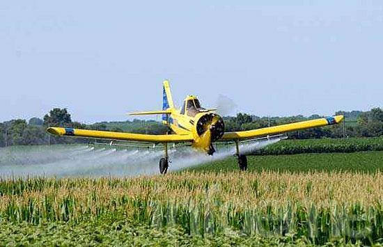 Buscan regular la aplicación de agroquímicos en la Provincia