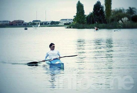 """""""En febrero casi me daba vuelta del kayak, hoy voy al mundial"""""""