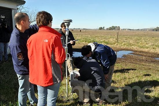 Comenzaron las mediciones ambientales en Colonia Hinojo