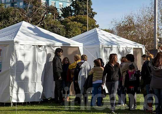 Vacunación antigripal: puesto sanitario en el Salón Rivadavia