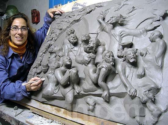 Obra de artista local decorará la Capilla del Bicentenario