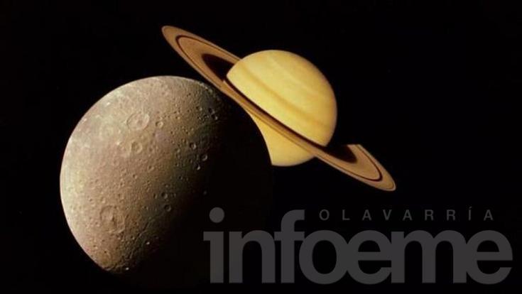 Imperdible espectáculo para este lunes: Saturno junto a la Luna
