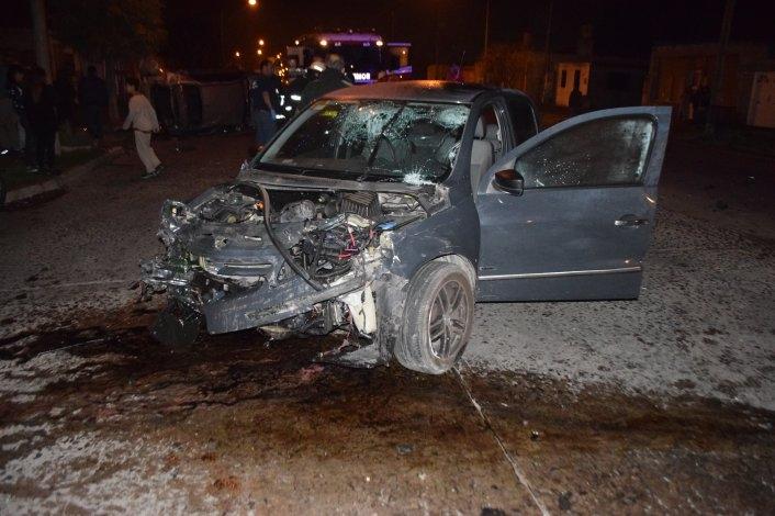 Dieron de alta a tres de los siete heridos en el choque