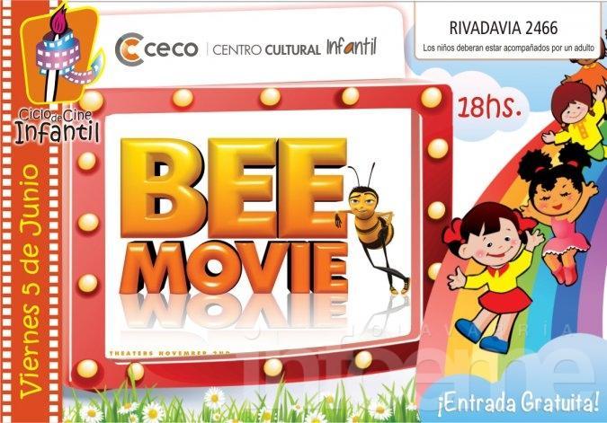 """Cine en el Centro Infantil del CECO, """"Bee Movie"""" este viernes"""