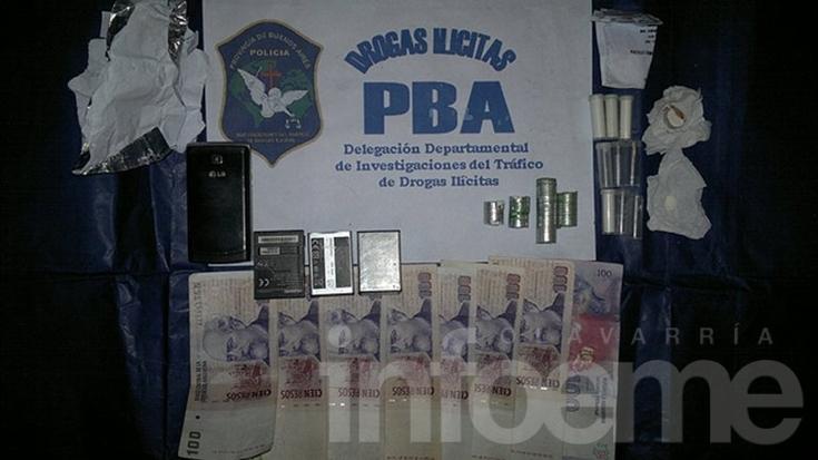 """Secuestran """"tubitos"""" de cocaína durante allanamiento"""
